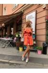 LATINA orange dress