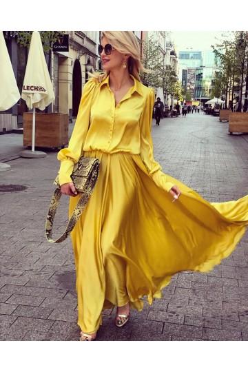 Sukienka ARIANA yellow