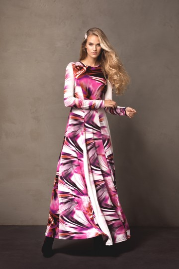 Sukienka MONTANA violet
