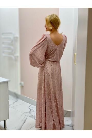 Sukienka ALAYA nude