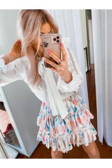 Spódnica CELINE flower pink