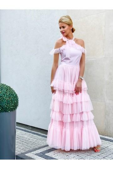 CRISTAL pink dress