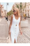 SANDY white dress
