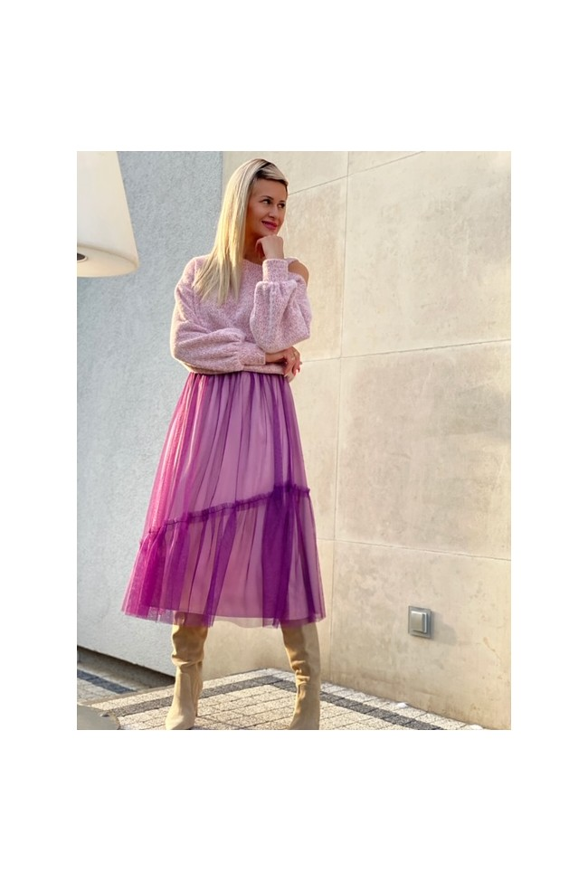 PURE violet light skirt