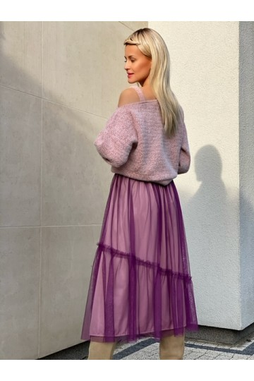 PURE violet light skirt