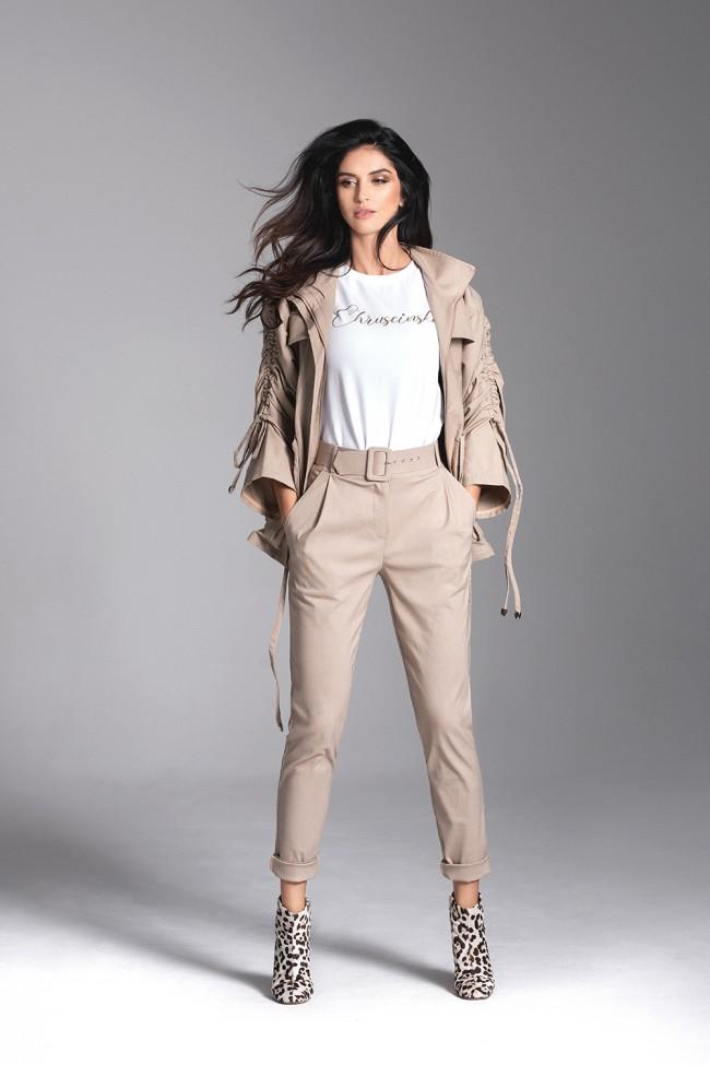 Spodnie SPELL beige