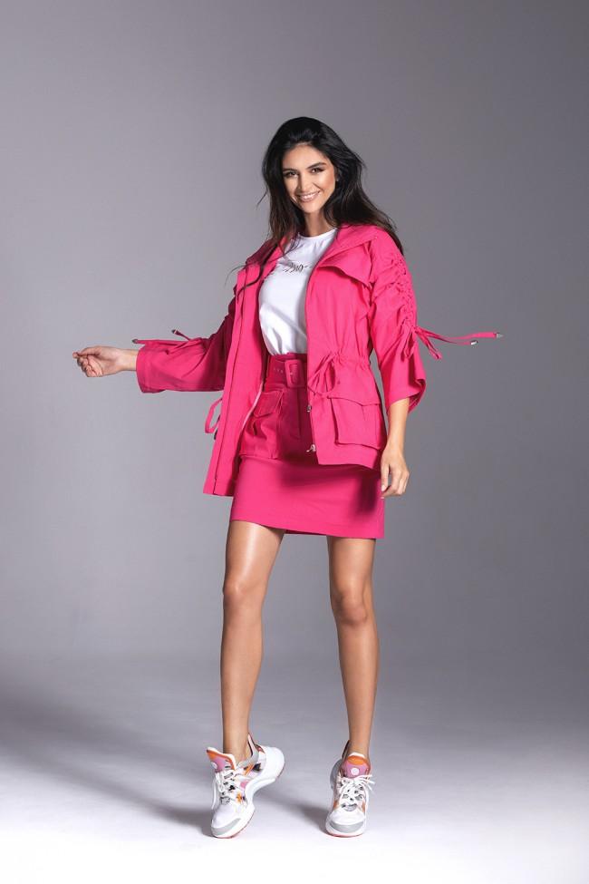 Kurtka CHLOE pink