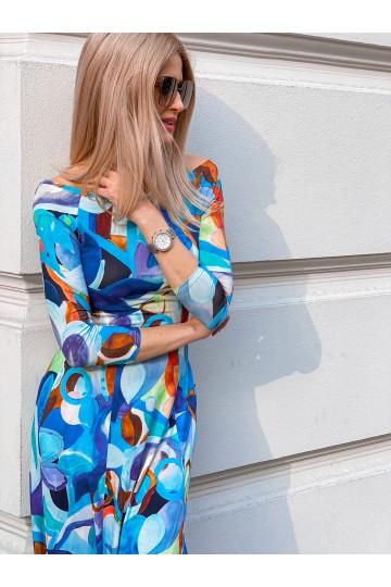 Sukienka SARA blue
