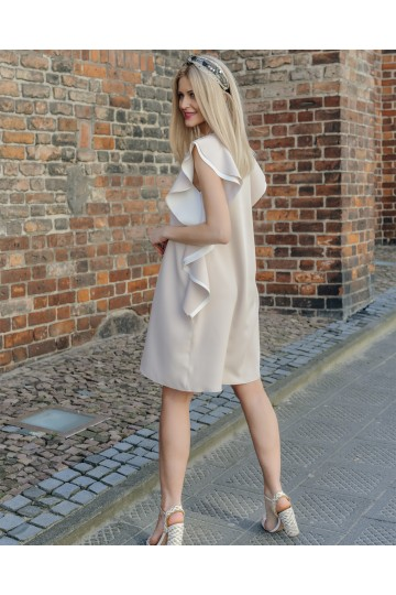 BAFFI beige dress