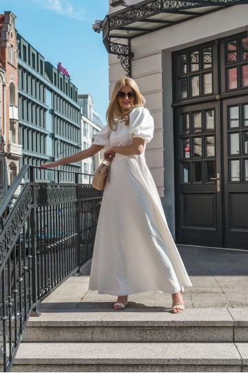 Sukienka HAMAL white