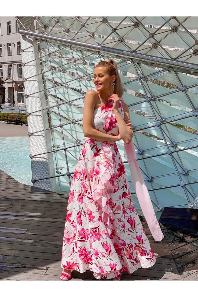 Suknia SEVILLA pink