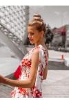 Suknia SEVILLA red