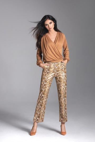 MON camel sweater