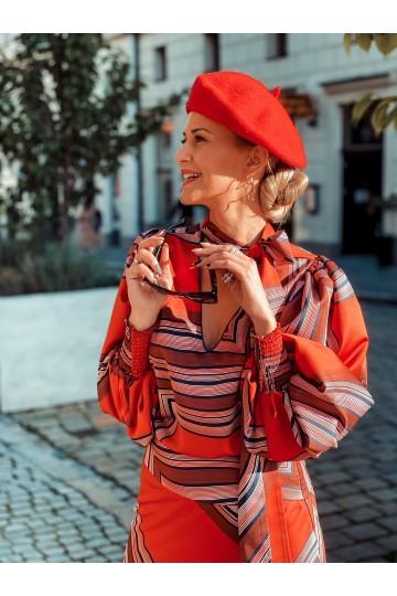Koszula NANCY red